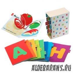 Pop-up ABC (книжки-малышки с английскими буквами)