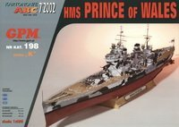 HMS Prince of Wales / ЕВК «Принц Уэльский» Модель из бумаги