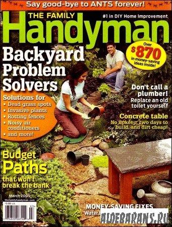 Family Handyman Март 2009