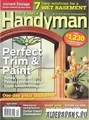 The Family Handyman №59 | 497 April 2009